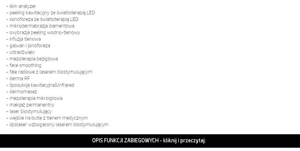 f1bb0f59c1cb4 Wybierz funkcje zabiegowe (ich szczegółowy opis znajduje się poniżej);
